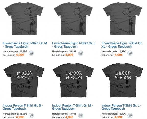Gregs T-Shirts