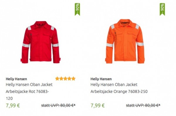 Helly Hansen Arbeitsjacken