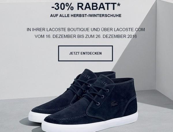 Lacoste Schuhe Sale