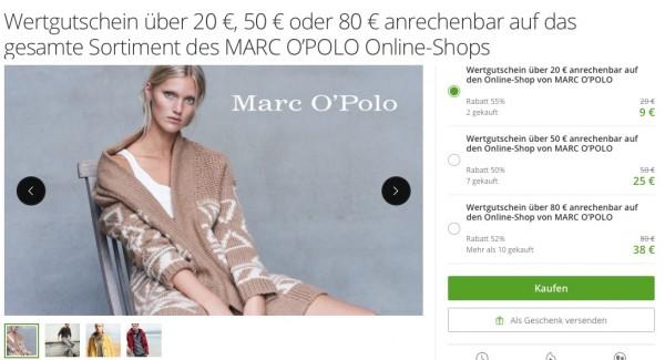 Marc O Polo Gutschein