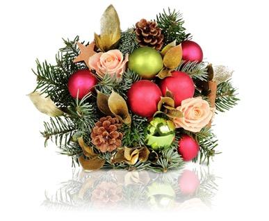 Santa Clause Blumenstrauß