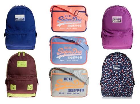 Superdry Taschen und Rucksäcke