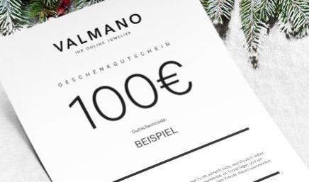 Valmano Geschenkgutscheine