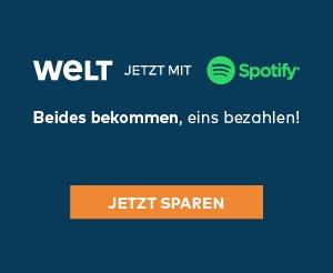 WELTplus mit Spotify