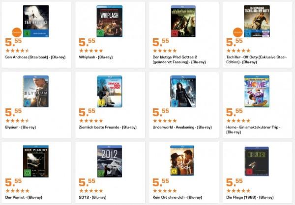 Blu-rays günstig