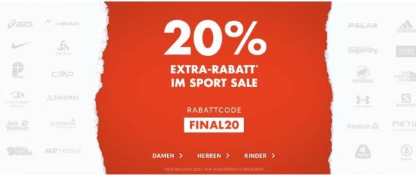 engelhorn Sports 20 %