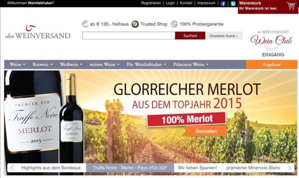 Weinversand Gutscheincode