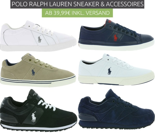 Polo Ralph Lauren Schuhe und Rucksäcke