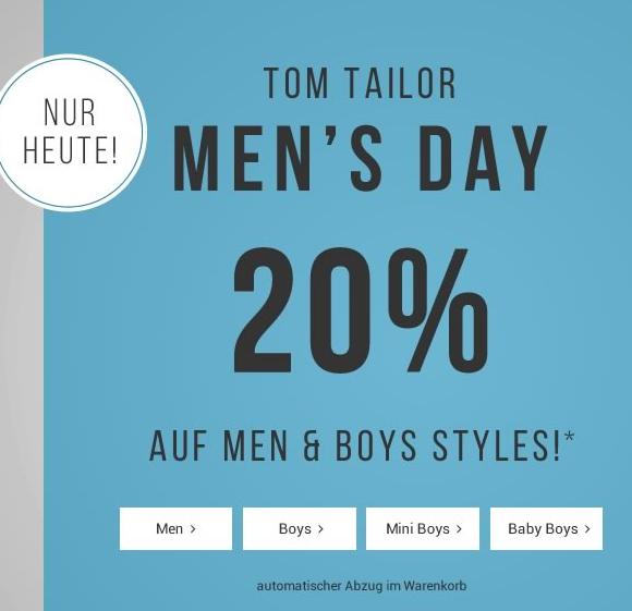 tom tailor mens day