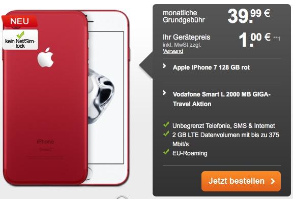 Vodafone Smart L mit iPhone 7