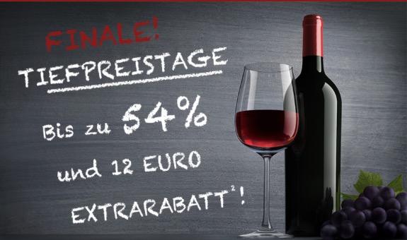 Weinvorteil Tiefpreistage