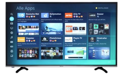 hisense h55mec3050 55 4k smart tv f r 449 triple tuner eek a sparbote schn ppchen. Black Bedroom Furniture Sets. Home Design Ideas