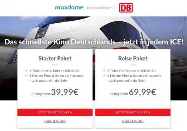 Maxdome Bahn