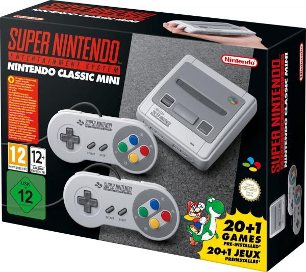 Nintendo Classic Mini Konsole SNES