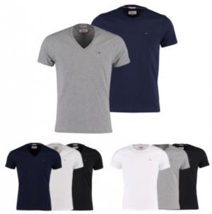 2017-12-28 11_09_31-Hilfiger Denim T-Shirt V-Neck o Rundhals NEU grau blau schwarz weiß S M L XL XXL